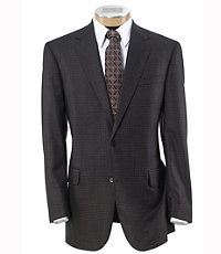 Signature 2-Button Wool Patterned Sportcoat