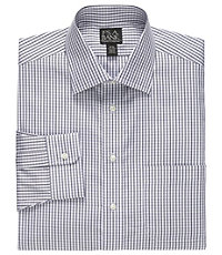 Traveler Tailored Fit Spread Collar Twill Dress Shirt