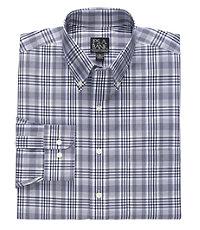 Traveler Long-Sleeve Buttondown Sportshirt Tailored Fit