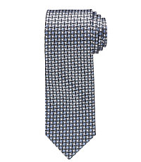 Heritage Collection Narrower Small Geometric Circles and Squares Tie