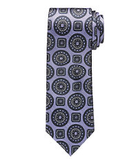 Heritage Collection Large Cirle Medallion with Squares Tie