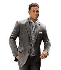 Jos. A. Bank Executive 2-Button Tailored Fit Wool/Silk Sportcoat