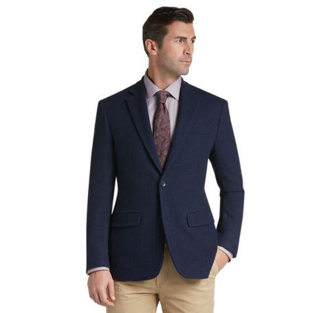 Executive Collection Tailored Fit Sportcoat - Executive Sportcoats ...
