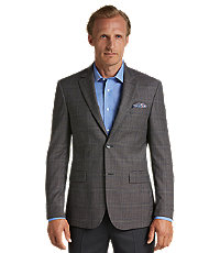 Signature Collection Tailored Fit Plaid Sportcoat