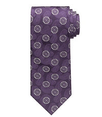 Signature Ground Medallion Tie