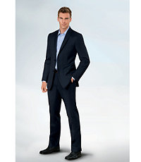 NEW! Joseph Slim Fit 2 Button Plain Front Wool Suit