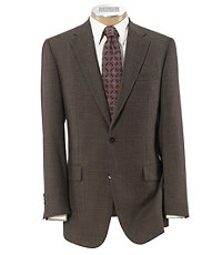 Signature Tailored Fit Textured 2-Button Sportcoat Extended Sizes