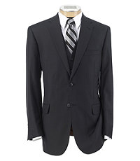 Joseph 2 Button Wool Vested Suit with Pleated Trousers