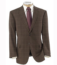 Signature Tailored Fit Textured 2-Button Sportcoat