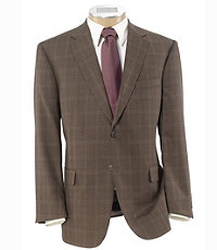 Signature Tailored Fit Textured 2-Button SportcoatExtended Size