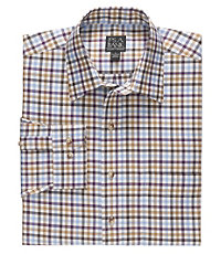 Traveler Long-Sleeve Buttondown Sportshirt Tailored Fit