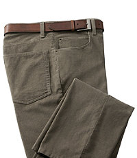 VIP Five Pocket Plain Front Corduroy