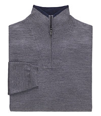 Joseph Half Zip Sweater