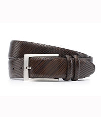 Soft Collection Diagonal Dress Belt- Size 44