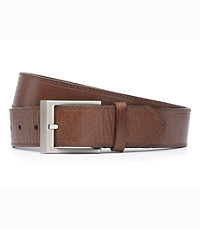 Burnished Brown Dress Belt