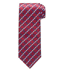 "Signature Petal Grid Tie 61"" Long"