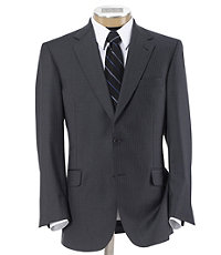 Signature Gold 2-Button 150's Wool Pleated Suit - Sizes 44 X-Long-52