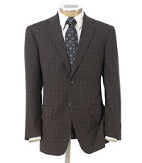 Traveler Wool Tailored Fit 2-Button Sportcoat Extended Size