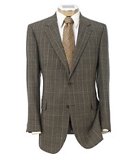 Signature 2-Button Wool Patterned Sportcoat - Sizes 44 X-Long-52