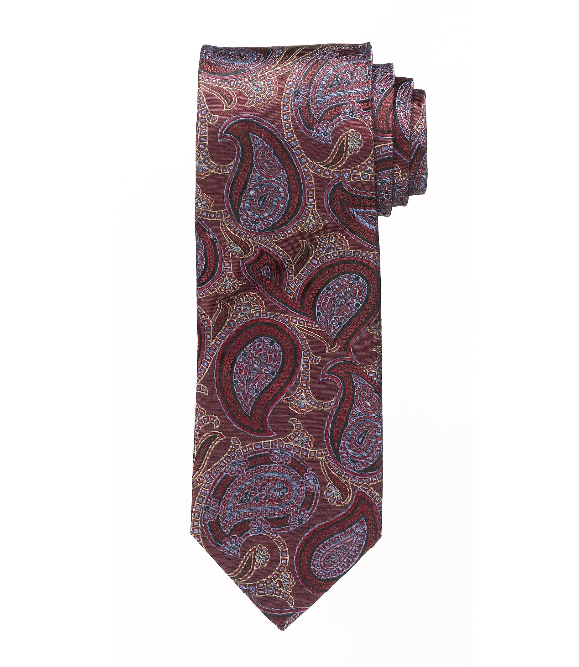 Heritage Collection Narrower Paisley Tie £14.80 AT vintagedancer.com