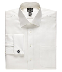Signature Wrinkle-Free Spread Collar, French Cuff Dress Shirt