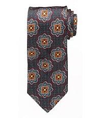 Signature Gold Large Florette Tie