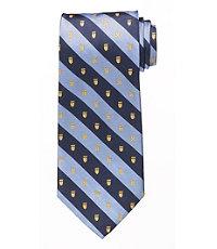 Crested Stripe Tie