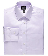 Traveler Slim Fit Long-Sleeve Dress Shirt                                      L