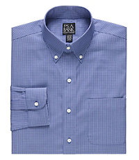 Traveler Slim Fit Long-Sleeve Buttondown Dress Shirt