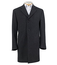3/4 Traveler Tailored Fit Mini Box Topcoat Extended Sizes