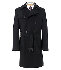 Traveler Tailored Fit Double Breasted Trench Topcoat