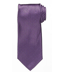 "Signature Micro Dotted Tie 61"" Long"