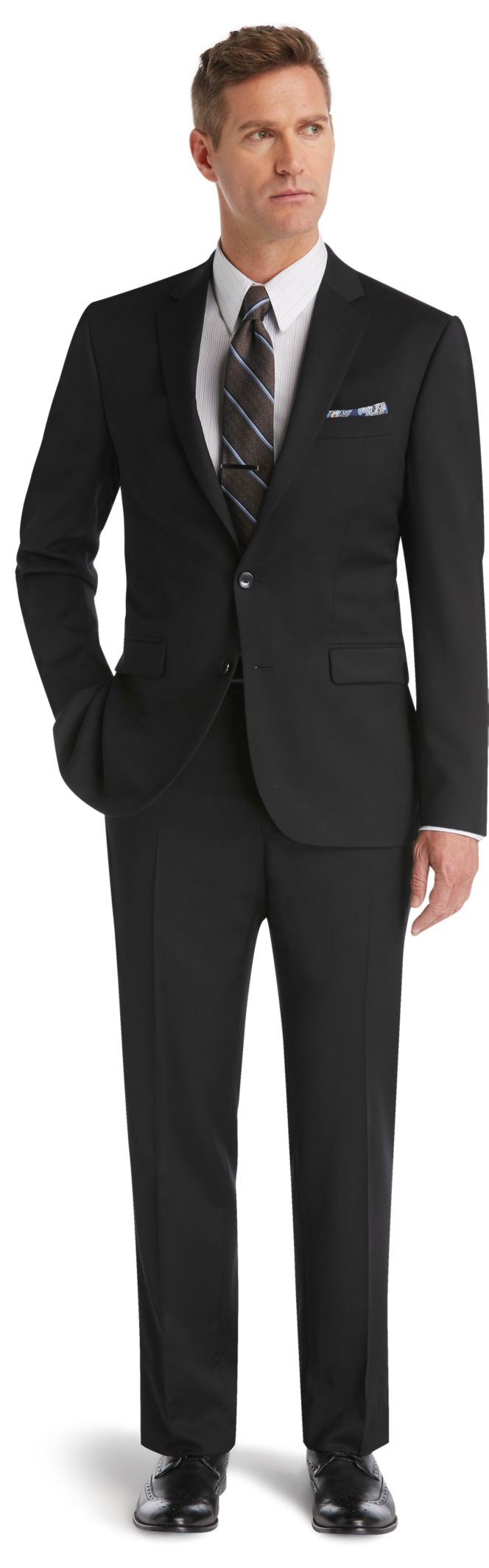 Traveler Collection Slim Fit Suit - Traveler Suits | Jos A Bank