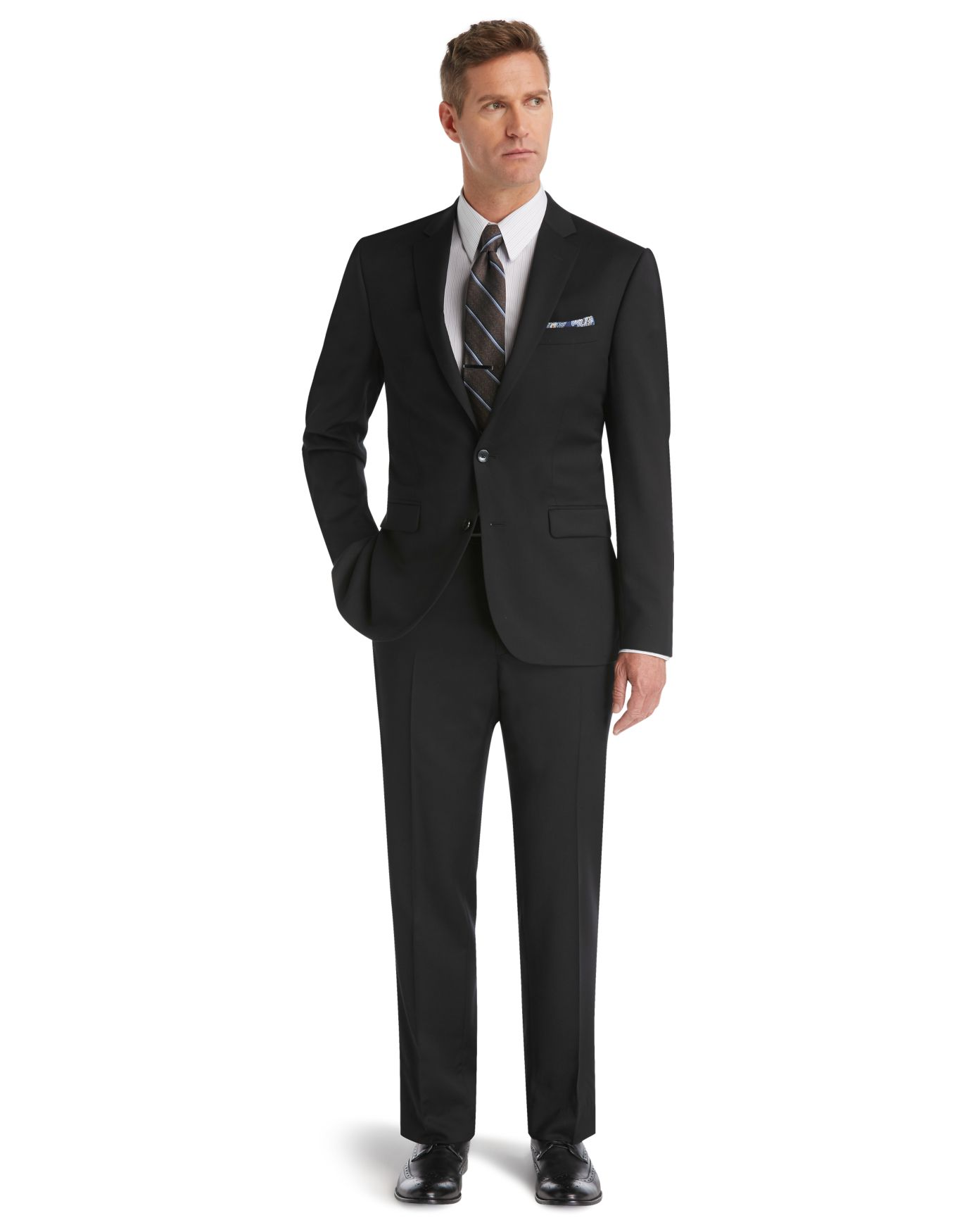 100% Wool Slim Fit Suit - Men's Suits | JoS. A. Bank