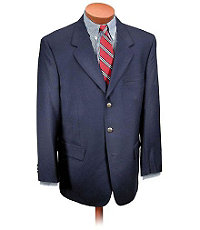 Executive 3-Button Wool Blazer