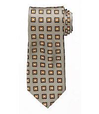 Signature Herringbone Boxes Tie