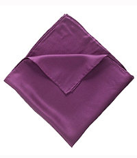 Joseph Solid Silk Pocket Square