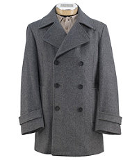 Executive Wool Peacoat