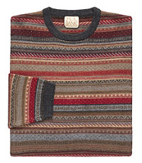 VIP Take it Easy Fairisle Sweater