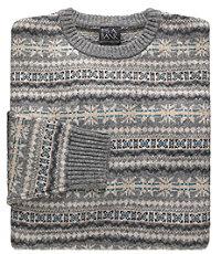 Fair Isle Crewneck Lambswool Sweater