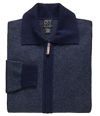 Lambswool Sweater Full-Zip