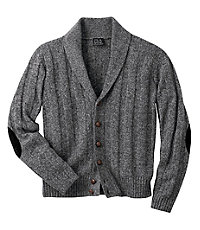 Click here for Lambswool Shawl Collar Cardigan Mens Sweater CLEAR... prices