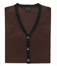 Joseph Color Block Sweater Vest