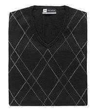 David Ledbetter's Argyle Stripe Vest