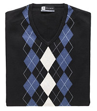 David Leadbetter's Argyle Vest