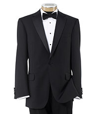 Joseph Slim Fit 1 Button Tuxedo with Plain Front Trousers