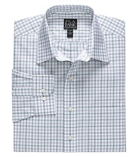 Traveler Patterned Point Collar Tailored Fit Sportshirt