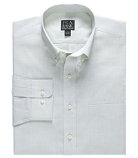 Traveler Buttondown Collar Sportshirt Big/Tall