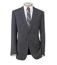 Traveler Slim Fit 2-Button Suit with Plain Front Trousers