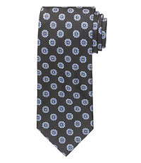 Signature Floral Square with Dots Tie